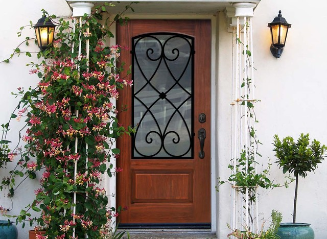 Fiberglass & Steel Doors traditional-entry