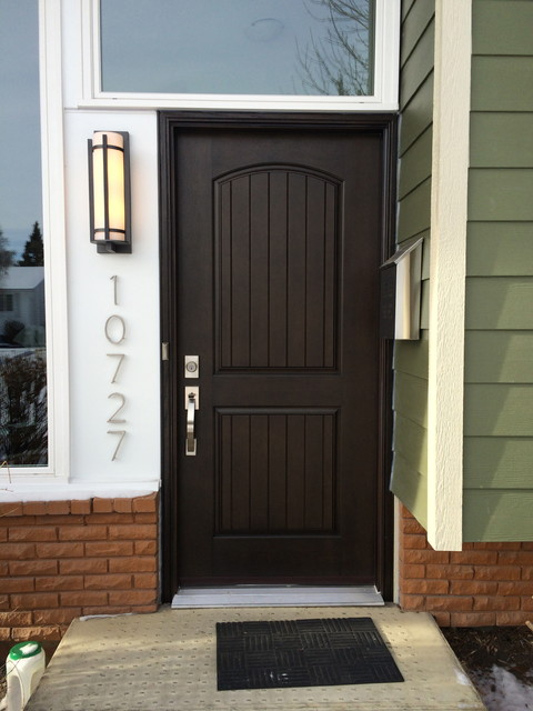 Fiberglass Entry Door Craftsman Entry Calgary By