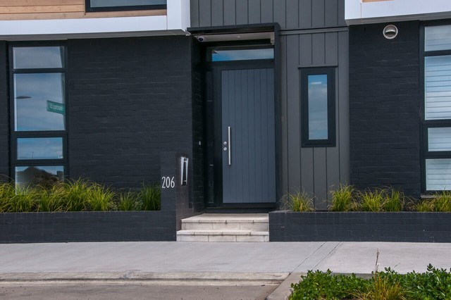 Fibreglass Entry Doors Modern Entry Melbourne By Parkwood Doors