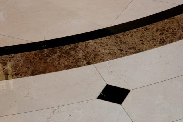 Floor tile Installation traditional