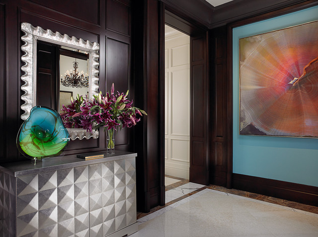 Interior Designers Decorators Florida Beachfront Residence Vero Beach Usa Tropical Entry