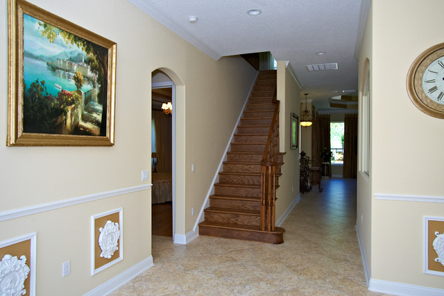 Florida Green Home - Palm Coast, FL traditional staircase
