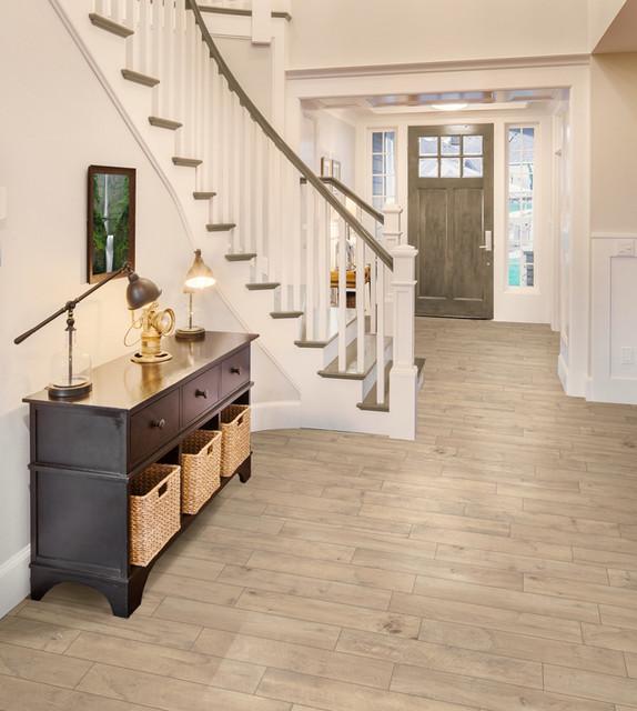 Traditional Foyer Tiles : Florim usa vintage wood look porcelain tile cream