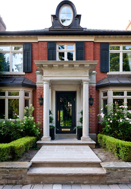 Forest Hill Classic Georgian Reno Traditional Entry