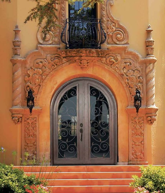 Forged Iron Doors mediterranean-entry