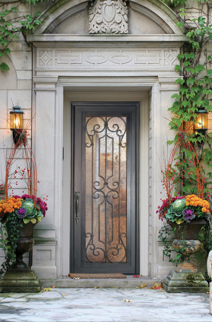 Forged iron doors mediterranean entry by us door for Mediterranean style entry doors