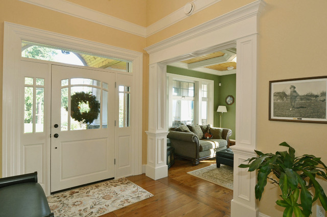 Fort langley home craftsman entry vancouver by f