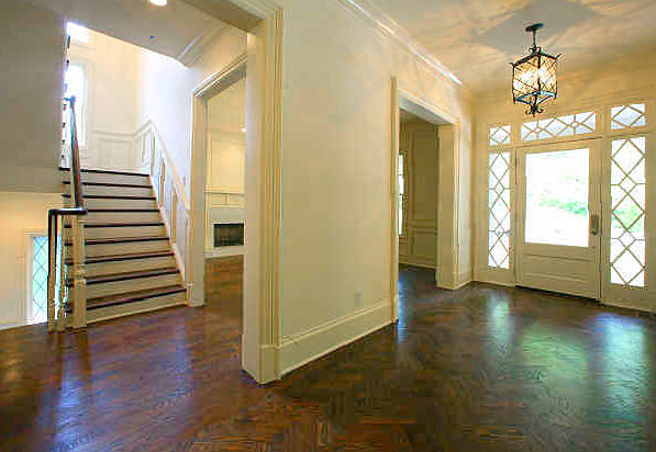Four Square Foyer Traditional Entry Atlanta By