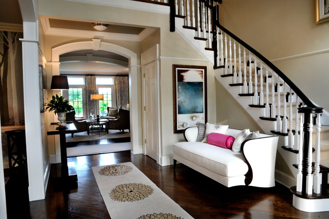 Entry Foyer Houzz : Foyer traditional entry new york by a perfect