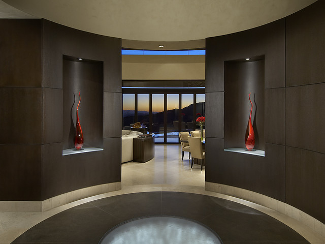 Modern Foyers Entrances : Foyer contemporary entry other metro by angelica