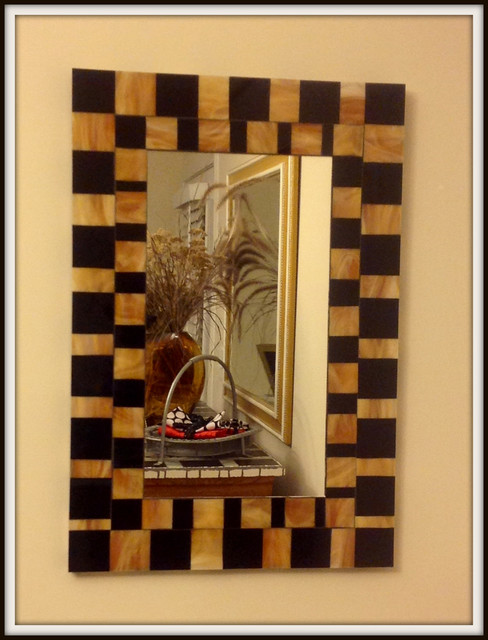 Art Deco Foyer Lighting : Foyer art deco mirror modern entry other metro by
