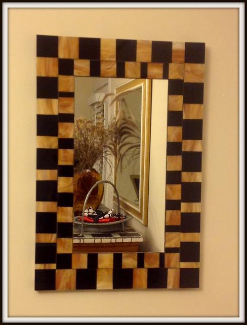 Foyer Art Deco : Foyer art deco mirror modern entry other by mosaic