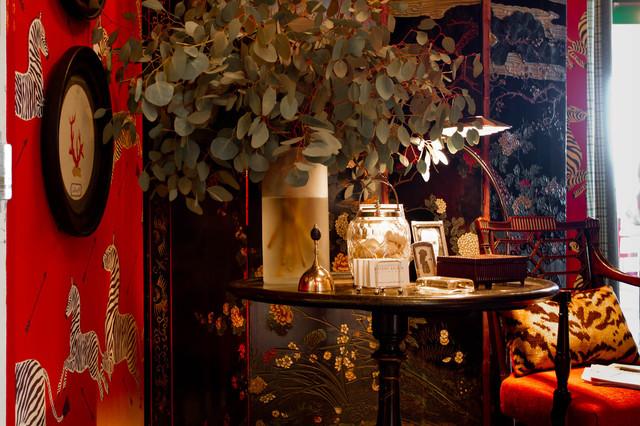Foyer: Bryant Keller Interiors eclectic-entry