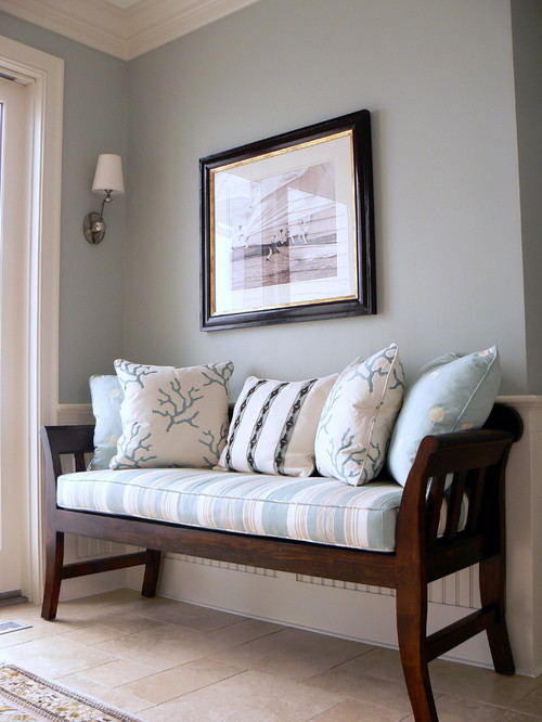 Houzz Foyer Bench : Entryway favorite paint colors