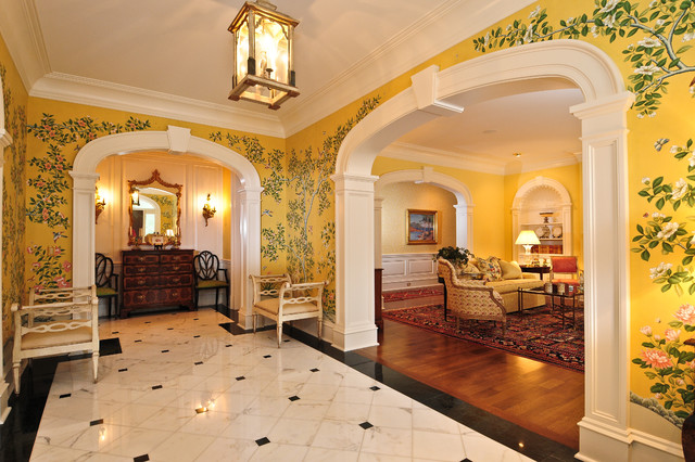 Houzz Traditional Foyer : Foyer traditional entry other metro by driwood
