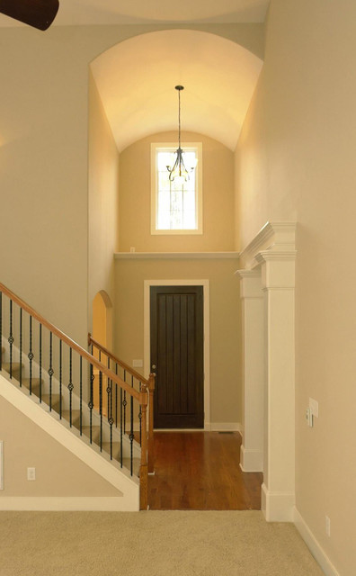Foyer Door Frame : Foyer entrance traditional entry raleigh by