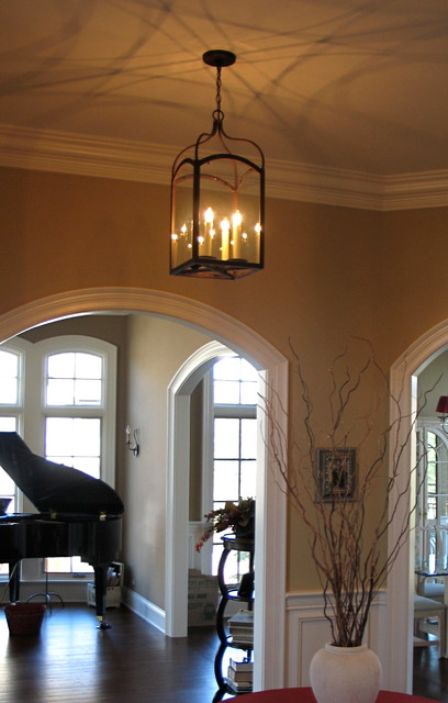 Foyer Hallway Lighting Transitional Entry Chicago