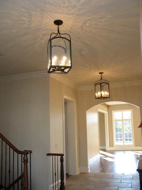 Foyer Hallway Questions : Foyer hallway lighting traditional entry chicago