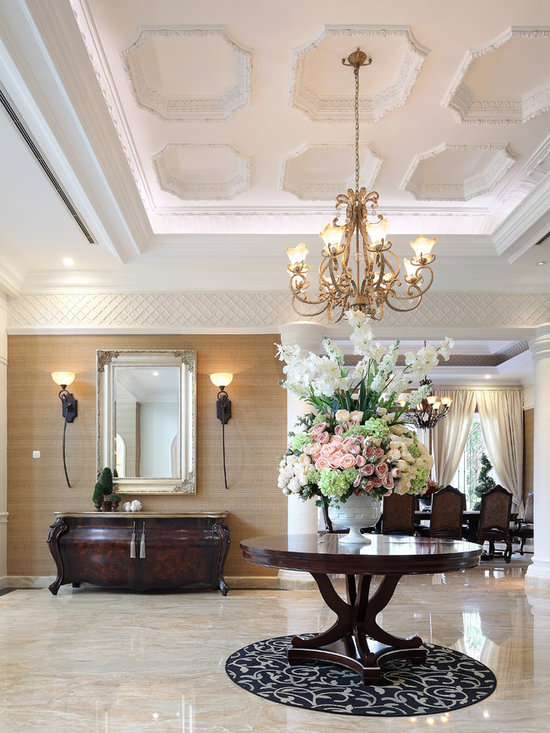 Houzz Foyer Wallpaper : Wallpaper foyer home design ideas pictures remodel and decor