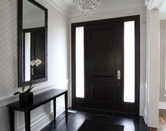 Foyer contemporary entry