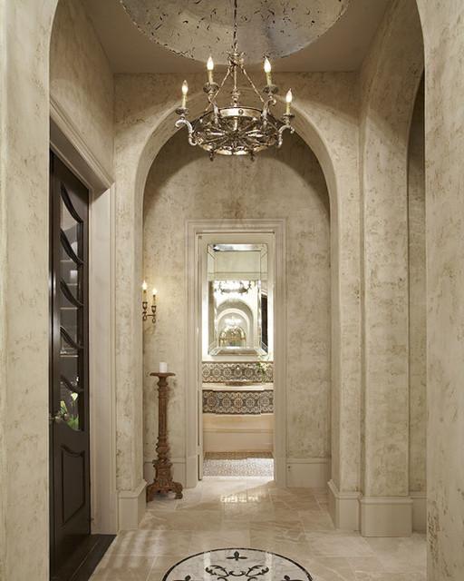 Foyer mediterranean-entry