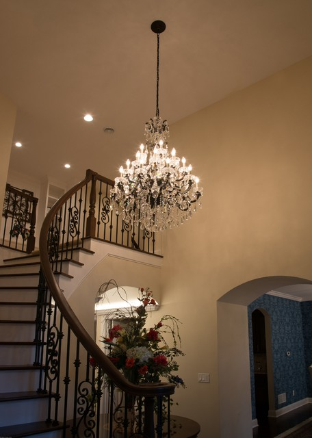 Traditional Foyer Questions : Foyer lighting traditional entry