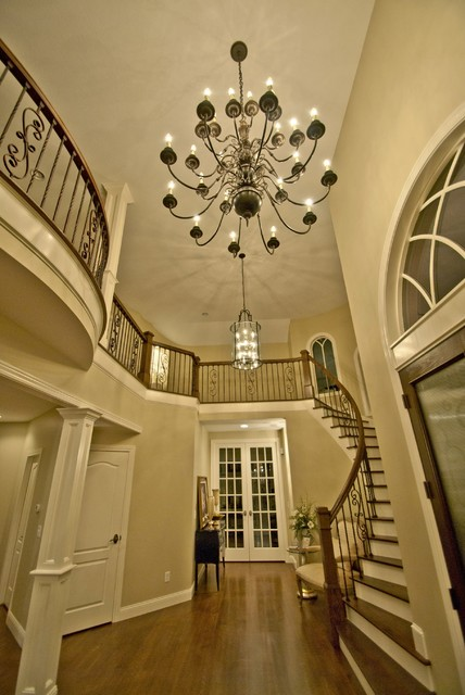 Traditional Foyer Photos : Foyer lighting traditional entry other by gross
