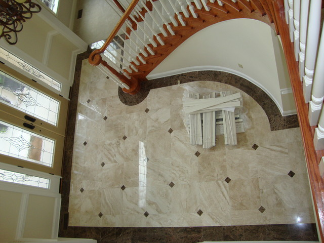 Foyer Tile Design Ideas amazing diy stained concrete floors there were other pages on how to floor patternsdesign patternstile Foyer Traditional Entry