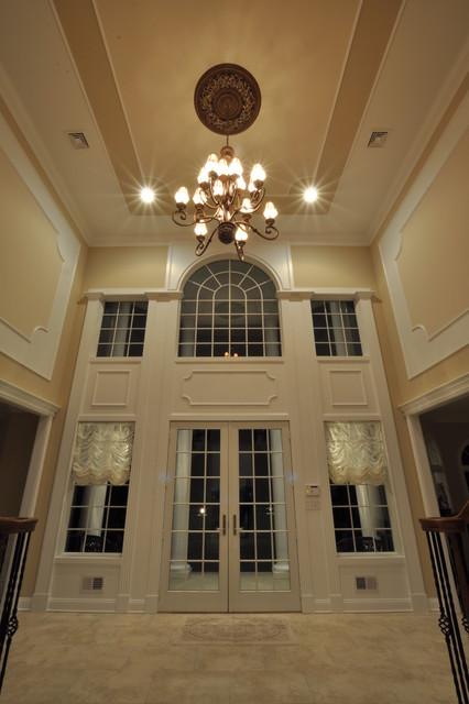 Foyer Entrance Questions : Foyer trimwork