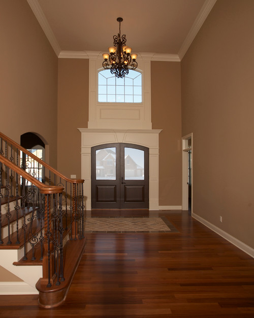 Two Story Foyer Key : Paint color thanks