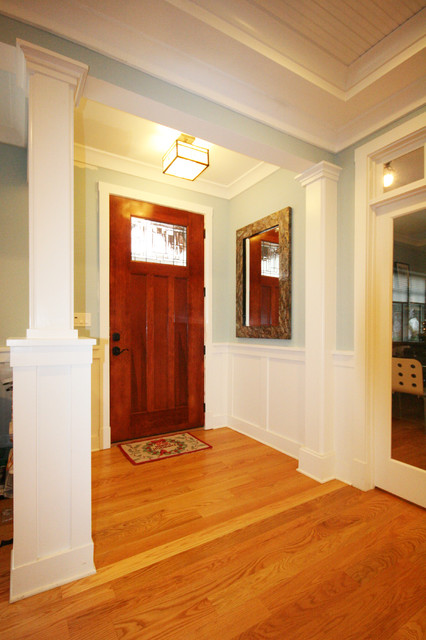 Franklin Street House eclectic-entry