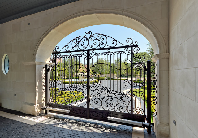 Private Residence - French Formal Luxury traditional-entry