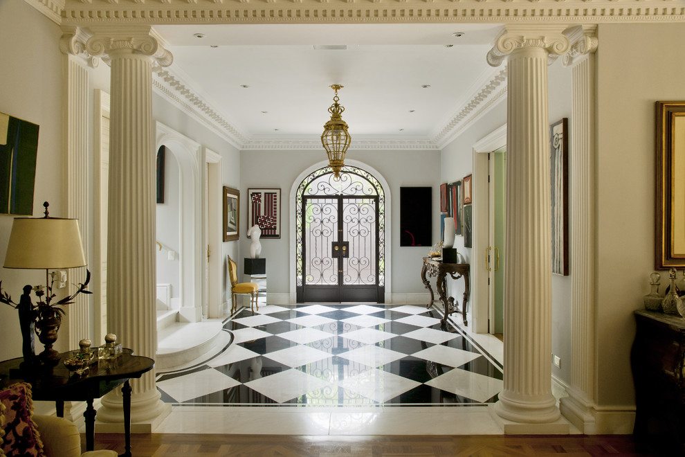 Entryway - traditional entryway idea in Other