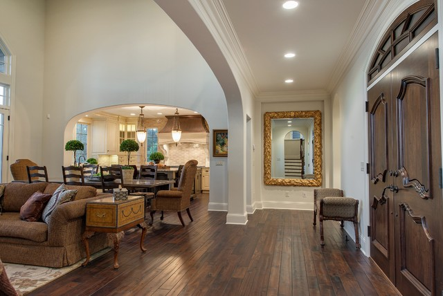 French Country on Prior Lake traditional-entry