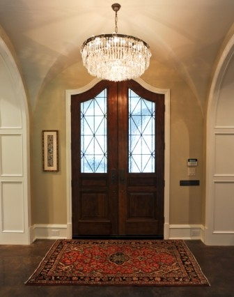 French Door Front Entry