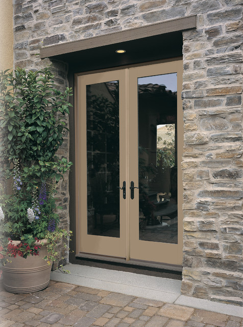 French doors - Traditional french doors exterior ...