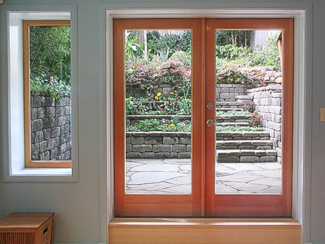French Doors To Patio Contemporary