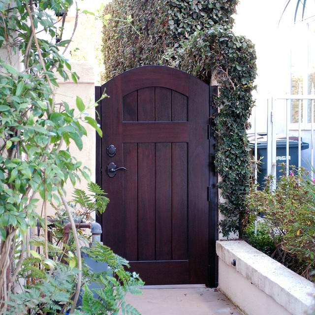 French European Style Gates Handcrafted In Solid Wood