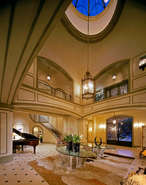 French Normandy Beverly Hills traditional-entry