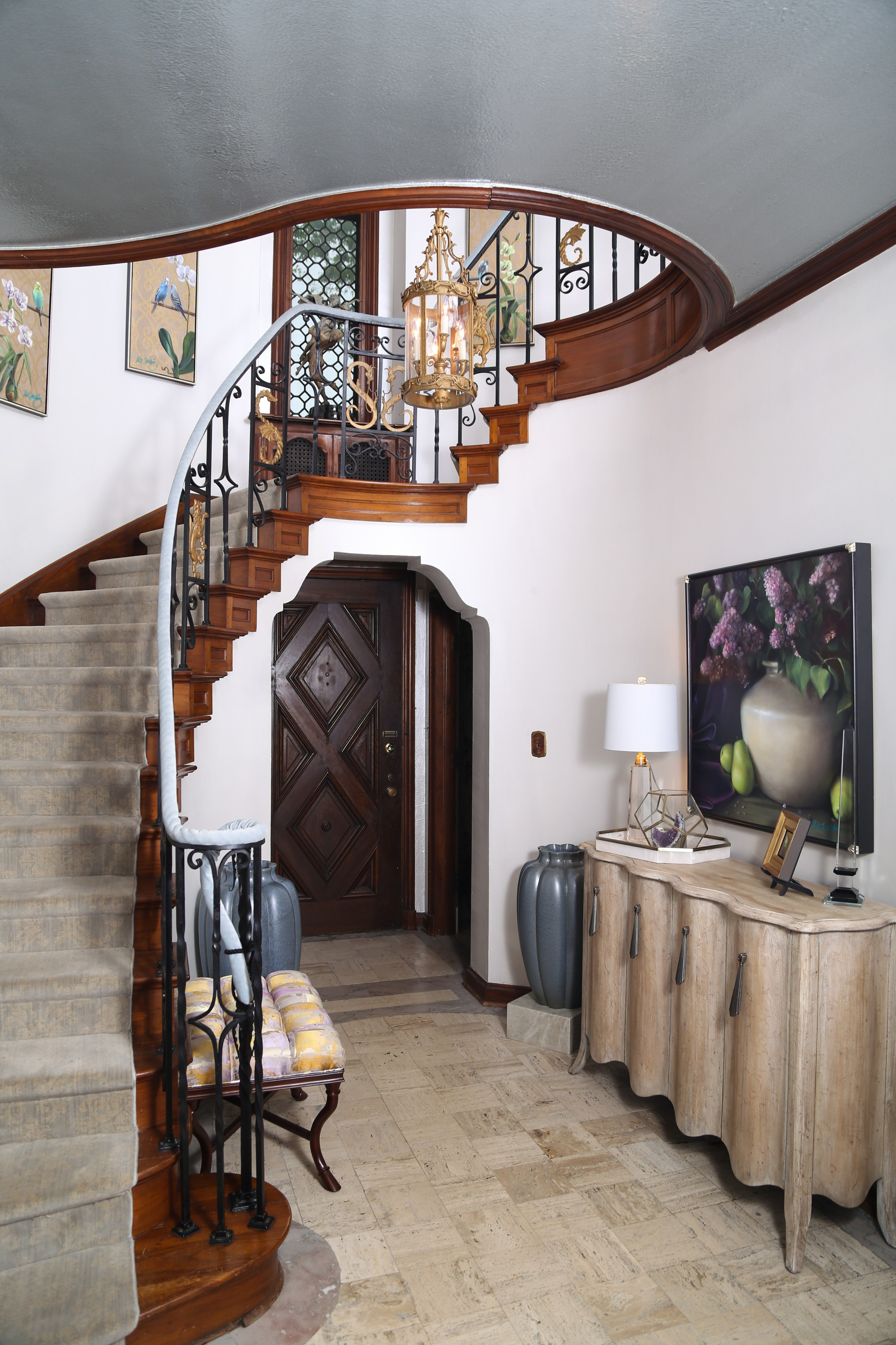 French provincial Decorator Showhouse Entry
