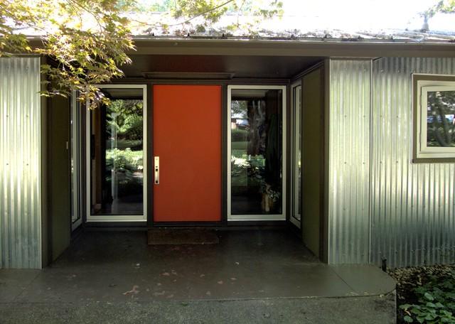 mid century modern front doorsfront doorjpg  Midcentury  Entry  Portland  by John Prindle