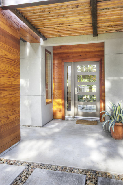 Front door contemporary entry sacramento by mak for Ultra glass sacramento ca
