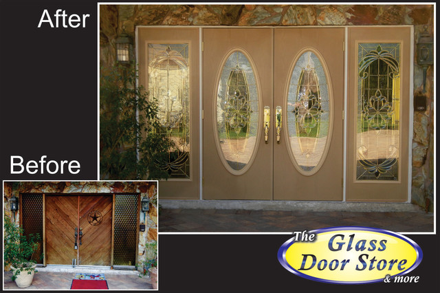 Front Door Remodel and Replacement traditional-entry
