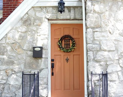 Front door traditional entry