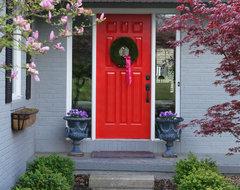 front door view.jpg eclectic-exterior