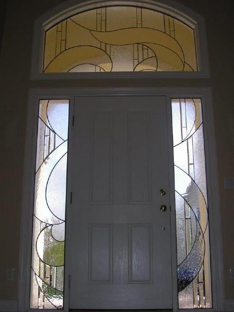 Door Art Installation : Front doors