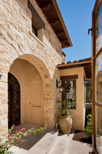 Front Doors and Entries mediterranean-entry