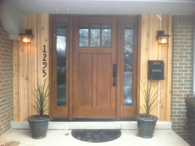 Front Doors Contemporary Entry Detroit by Fingerle Lumber