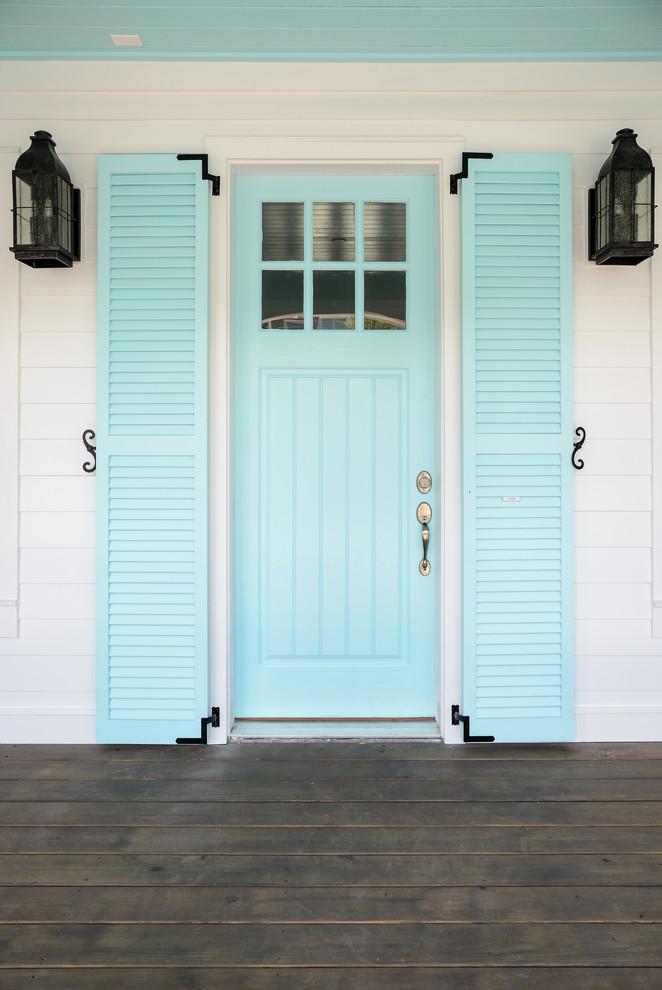 Entryway - coastal entryway idea in Jacksonville