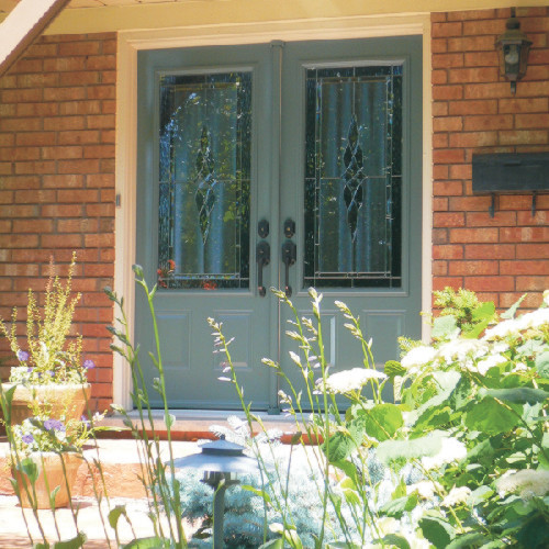 Front Double Door traditional-entry
